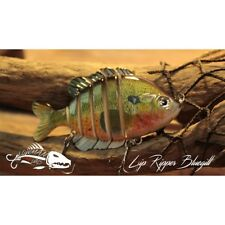 "Bluegill Swim Bait 3.5"" Jointed Fishing LureOfficial Lowman Lures Lip Ripper"