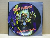 IRON MAIDEN - NO PRAYER FOR THE DYING - LP - 33 RPM - VINYL PICTURE - EMI 1998