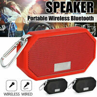 Rechargeable Wireless Bluetooth Speaker Portable Mini Super Bass Purple Speaker