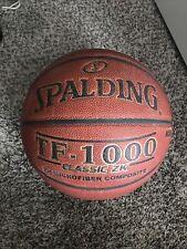 Original Spalding Tf-1000 Game Ball Basketball Men's 29.5