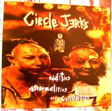 CIRCLE JERKS Oddities Abnormalities & Curiosities 1996 promo FLAT freaks 12x12in