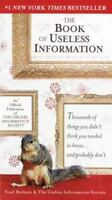 The Book of Useless Information by Botham, Noel , Paperback