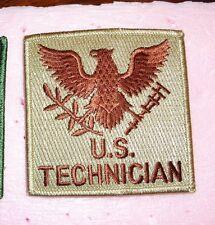 USMC CIVILIAN TECHNICIAN DESERT PATCH