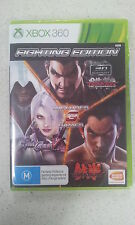 Fighting Edition Tekken Tag Tournamament 2+Soul Calibur V+Tekken 6 Xbox 360 NEW