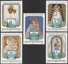 Hungary 1991 Pope John Paul II/Papal Visit/Religion/Virgin Mary 5v set (n45796)