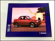 1996 Suzuki X-90 12-page Original Car Sales Brochure Catalog - X90