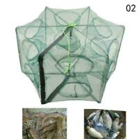 Automatic Fishing Nets 6 Hole Fishing Trap Folded Hexagon Trap Neu Cast Shr J7B5