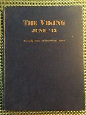 1942 Northern High School Yearbook Detroit Michigan MI WWII Year Book Lot A HS