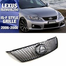 IS-F ISF Style Front Radiator Hood Grille Grill For LEXUS 2006-2008 IS250 IS350