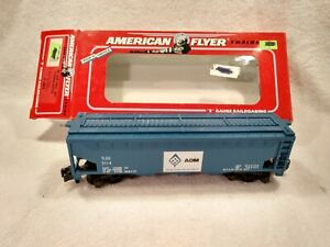 American Flyer 6-48612   950 ADM Three Bay Covered Hopper   S Gauge  /  NIB