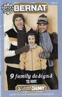 9 Family Designs to Knit | Bernat 542012