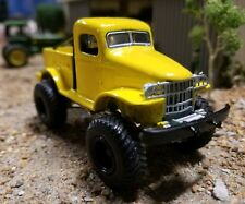 Custom DODGE CUMMINS Truck 1:64 Scale 4x4 lMonster Mega lifted mud tires GL 4wd