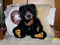 Charlie Bears MALCOLM, Magnificent Moon Bear, New and Extinct w/Tags/Orgl., Bag!