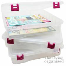 Home Office Studio Craft Bin Desk Organiser | Pink Latch Creative Options Projec
