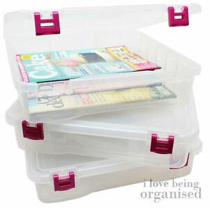 Creative Options Home Office Studio Craft Bin Desk Organiser Project Box