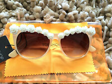 TOPSHOP 3D Flower Brow Cateye Sunglasses new Summer holiday