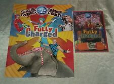 Ringling Bros. Barnum & Bailey Fully Charged Circus Program & Dvd NEW Sealed!