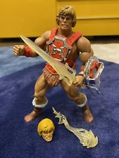 MOTUC Masters Of The Universe CLASSICS - THUNDER PUNCH HE-MAN with VINTAGE HEAD