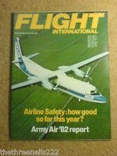 FLIGHT INTERNATIONAL - ARMY AIR REPORT - 31 July 1982