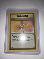 LASS 75/102 - Rare Trainer - Pokemon Card - Base Set - NM/MINT