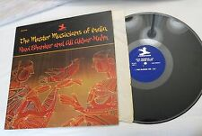 LP Master Musicians of India Ravi Shankar & Ali Akbar-Khan, Prestige MONO VG++