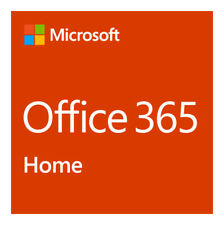 Microsoft Office 365 Home 1 Year Subscription for 5 PCs or Macs and 5 Tablets