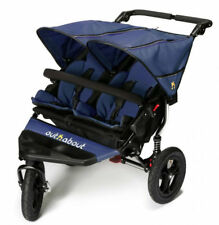 Brand new Out n About nipper 360 double pushchair v4 in Royal navy and Raincover