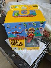 Nintendo Wii U Super Mario Maker Big Box Amiibo Edition With Artbook.