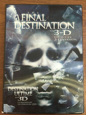 The Final Destination in 3-D with 2x 3-D Glasses Limited Edition Region 1