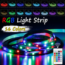 5V Powered SMD 2835 LED Strip Lights RGB Flexible Colour Changing+Remote  !!