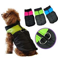 Comfortable Dog Small Pet  Medium Large Big Clothes Jacket Coat Warm Vest