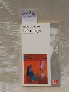 L'entranger ATT libro in francese