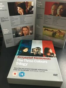 Three Colours Trilogy - Artificial Eye DVD - 4 Disc Box Set   Discs are Mint