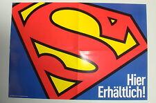 SUPERMAN S-SYMBOL ZEICHEN POSTER ca. 42 x 60 cm von Panini/Dino Verlag * neuware
