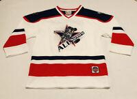 Vintage WALT DISNEY World Mickey Mouse All Stars Hockey Jersey Youth Large 10-12