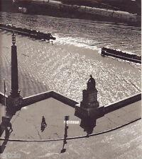 """Photogravure in """"Caractères 1954 """" - Molinard - Sur les Ponts de Paris"""