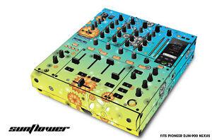 Skin Decal Wrap for PIONEER DJM-900 DJ Mixer CD Pro Audio DJM900 Parts - FLOWER