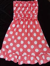 Charlotte Peach Terry Swimsuit Beach Cover Up Dress Jr. Teen M