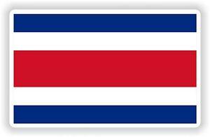 Republica De Costa Rica Flag Bandera 1x STICKER bumper pegatina car laptop bike