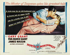 North by northwest Cary Grant vintage movie poster #12