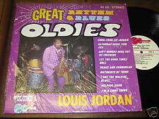 Louis Jordan R&B SOUL LP Great Rhythm & Blues Oldies V1