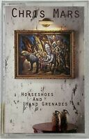 CHRIS MARS Horseshoes and Hand Grenades - Cassette Tape (1992 Smash Records) OOP