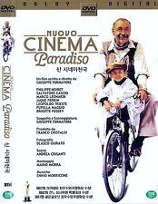 Nuovo Cinema Paradiso (1988) Giuseppe Tornatore Dvd Used (Italian) *Fast Ship.*