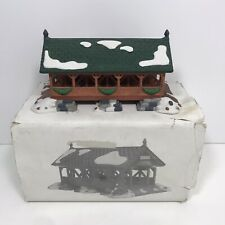 Heritage Village Dept. 56 New England Village Series Two Rivers Bridge Porcelain
