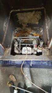 Rayburn G7 gas parts nat gas hob,burners, the whole gas train