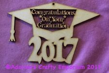 Congratulations On Your Graduation Sign Plaque Mdf Craft Cutout Wood 150 X 100mm