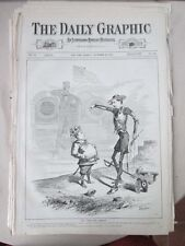 Vintage Print,UNWILLING SANCHO,Nov22,1875,Centennial Daily Graphic