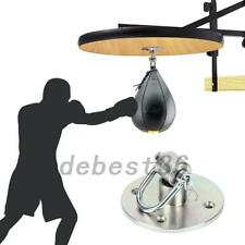 Heavy Duty Boxing Punch Bag Ball Bearing Steel Swivel Speed Athletics Training