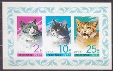 KOREA Pn. 1977 MNH** SC#1609a  Sheet, Cats.   Imp.