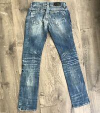BUCKLE BLACK No.146 Slim Straight Stretch Denim Jeans Woman's Size 24X32